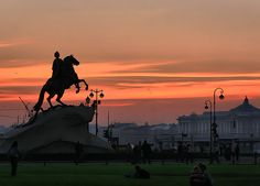 Bronze Horseman, Monument to Peter the Great, St. Petersburg, Russia  #travel #russia #saintpetersburg #2see #statue