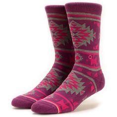Stance Native Tribal Print Crew Socks