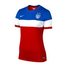 Women's Nike USA 2014/2015 Away Stadium Jersey... I must have you!