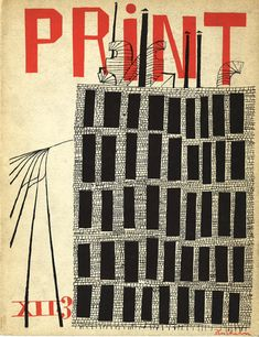 Looking forward to our 75th anniversary: vintage Print Mag covers