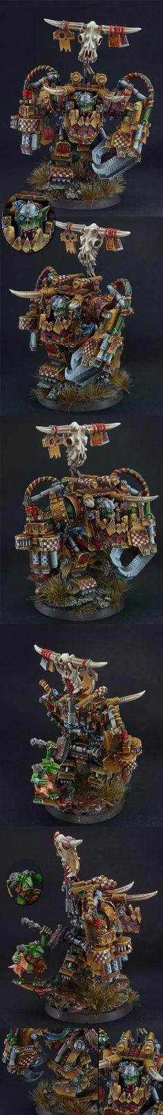 Ork Warboss Ghazghkull Thraka