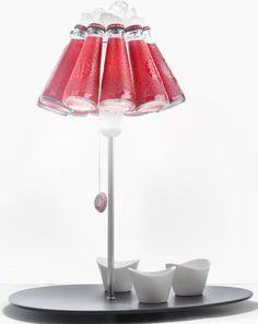 Halogen table #lamp CAMPARI BAR by Ingo Maurer. Design Raffaele Celentano  - Luminaires - Ingo Maurer