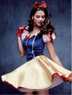 Disfraz de BlancaNieves Sexy #Costume #Disfraz Mujer