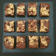 Recipe: Chocolate & Peanut Butter Brownies (GF, DF)