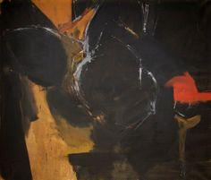 Black Painting Adrian Heath
