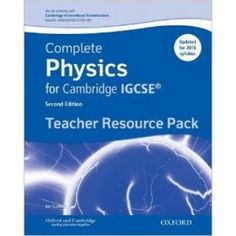 9780198308775, Complete Physics for Cambridge IGCSE Teacher Resource Pack (Third edition)