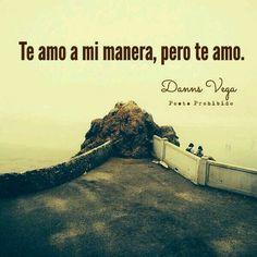 Te amo...