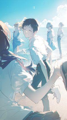 Neon Genesis Evangelion, Anime Art Girl, Manga Art, Anime Girls, Evangelion Shinji, Anime Lock Screen, Asuka Langley, Location History, Anime Characters
