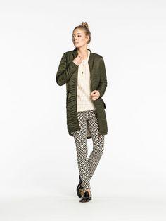 copped. Long Bomber Jacket | Jackets | Woman Clothing at Scotch & Soda