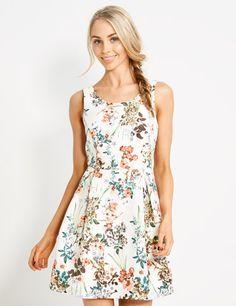 Climbing Floral Fnf Dress