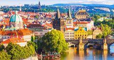 Prague Travel Guide — How to Visit Prague on a Budget Prague City, Prague Castle, Prague Travel Guide, Madrid, Visit Prague, World 7, New Wave, Night City, London