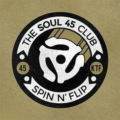 Image of The Soul 45s Club Patch + Lucky Dip Motown/Atlantic/Stax Record!