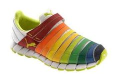 like a famous cake, now rainbow dancing in sneaker :D