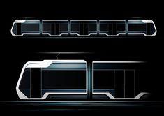 Tram design concept for an international client.