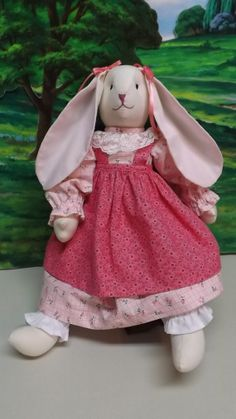 Bunny Girl Doll S1 by KreationsGalore on Etsy, $32.00