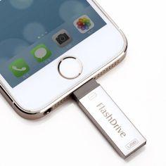 Apple Lightning Universal - Lightning USB Stik - 32 GB  iPad 3 (The New iPad) Tilbehør Biludstyr mobil og tablet udstyr