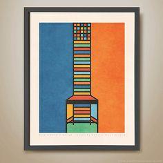 Hill House 1 Chair  Charles Rennie Mackintosh by HarperAndCharlie