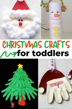 15 Christmas crafts for toddlers Tons of Christmas crafts for kids to make. These DIY christmas crafts for kids can be done at home and fun for the whole family. These Christmas crafts are also great for preschoolers, too!<br> 15 adorable DIY Christmas crafts for toddlers to make this holiday season.