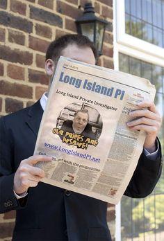 We made today's paper !  www.LongIslandPI.com  #LongIsland #PrivateInvestigator #SuffolkCounty #NassauCounty #NewYork #NY