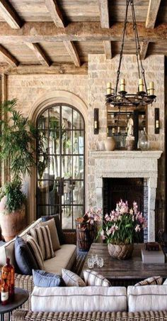 Exceptional French Country Decor are readily available on our website. Check it . - Exceptional French Country Decor are readily available on our website. Check it out and you wont be - French Country Living Room, French Cottage, French Country Style, French Country Fireplace, Cozy Cottage, Country Chic, Tuscan Living Rooms, Tuscan Bedroom, Tuscan Decorating