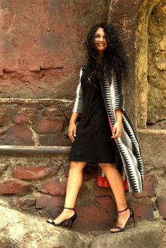 #flashbackfriday #fashion #ethnic #ikat #ikatlove #indowestern #instagram  This is, so far, my favorite!!