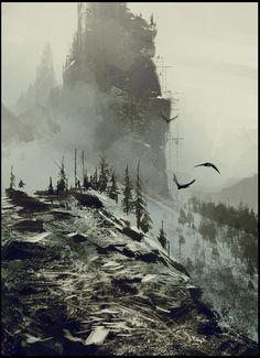 Morath [Dwarf King, Jakub Rozalski on ArtStation at https://www.artstation.com/artwork/dwarf-king]