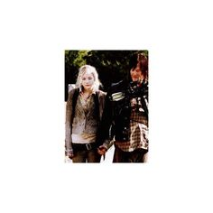 Daryl Dixon (Norman Reedus) and Beth Greene (Emily Kinney) in Episode... ❤ liked on Polyvore featuring the walking dead and twd