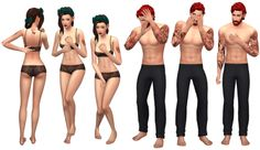 My old downloads | THE SIMS 4 POSES