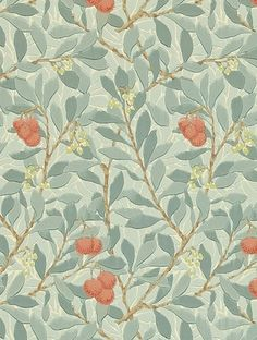 Buy Arbutus, a feature wallpaper from Morris and Co, featured in the William Morris collection from Fashion Wallpaper.