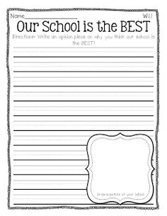 Opinion Writing - First Grade Centers and More | FirstGradeFaculty ...
