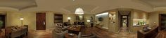 Panoramic view of our Ambassador Suite. Twist Restaurant, Guest Room, Living Room, Luxury, Rooms, Bedrooms, Sitting Rooms, Family Room, Living Rooms