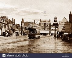 City Architecture, Ancient Architecture, Enfield Middlesex, Enfield Town, Vintage London, London City, Funny Art, Old Photos, Stock Photos