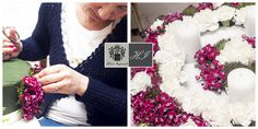 I nostri corsi di wedding floral design...