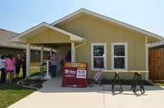 First Habitat For Humanity house