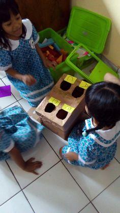 Four hole mysteri box