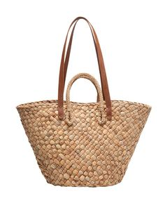 women'secret | Beachwear Collection | Bolso grande de rafia