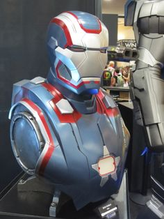 Iron Patriot By Sideshow Collectibles - 2013 SDCC #marvel #ironpatriot #sideshowcollectibles #sdcc