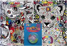 VINTAGE LISA FRANK SEAL COLLECTIBLE PATCH + 2 LISA FRANK COLORING BOOK FREE SHIP