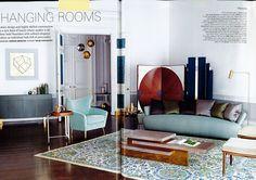 Harrods Magazine - The Nash and Brandon rooms photoshoot