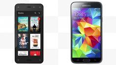Amazon Fire Phone Vs. Samsung S5