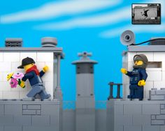 LEGO Banksy - Bouquet Thrower