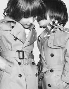 Back to school - the latest Burberry Childrenswear Autumn/Winter 2013 campaign for boys and girls