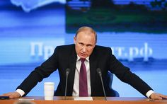 """Evidence of Russian airstrikes killing civilians in Syria is """"phony"""" and claims that Russia is targeting rebel groups rather than the Islamic State terror group are """"lies,"""" Vladimir Putin has said. In wide ranging comments on Russia's role in the Syrian civil war, Mr Putin also claimed Russia is coordinating air operations with anti-Isil rebel groups and said """"it is not important"""" whether Bashar Assad remains in power."""