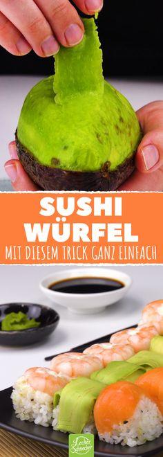 Dieses Sushi könnte selbst ein Baby machen.