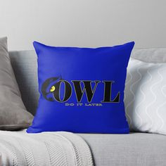 Soft and durable 100% spun polyester cover with an optional polyester fill/insert Home Decor Items, Fill, Throw Pillows, Cover, Prints, Design, Toss Pillows, Cushions