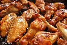 Jacque Pepin, Romanian Food, Food Tasting, Buffalo Wings, Tzatziki, Chicken Wings, Cooking Time, Chicken Recipes, Food And Drink