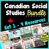 Canadian Social Studies Bundle - My Favourite Products at Canadian Social Studies, Text Features Worksheet, Remembrance Day Activities, Nonfiction Text Features, Levels Of Government, School Grades, Canadian History, Study History, Getting To Know You