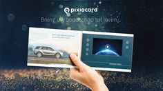 Een luxe geschenkverpakking met daarin een videoscherm voor uw persoonlijke boodschap. Laat uw relaties weten dat u ze waardeert en kies voor de VideoBox of Pixiocard!