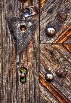 Gorgeous old wooden #door #wood #rustic #texture