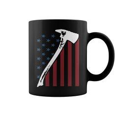 Firefighter Usa Flag HOT MUG : coffee mug, papa mug, cool mugs, funny coffee mugs, coffee mug funny, mug gift, #mugs #ideas #gift #mugcoffee #coolmug